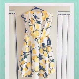 Plus Size Lemon Dress! 🍋